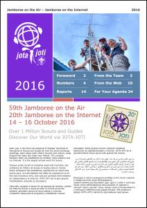 JOTA-JOTI Report 2016 ist online