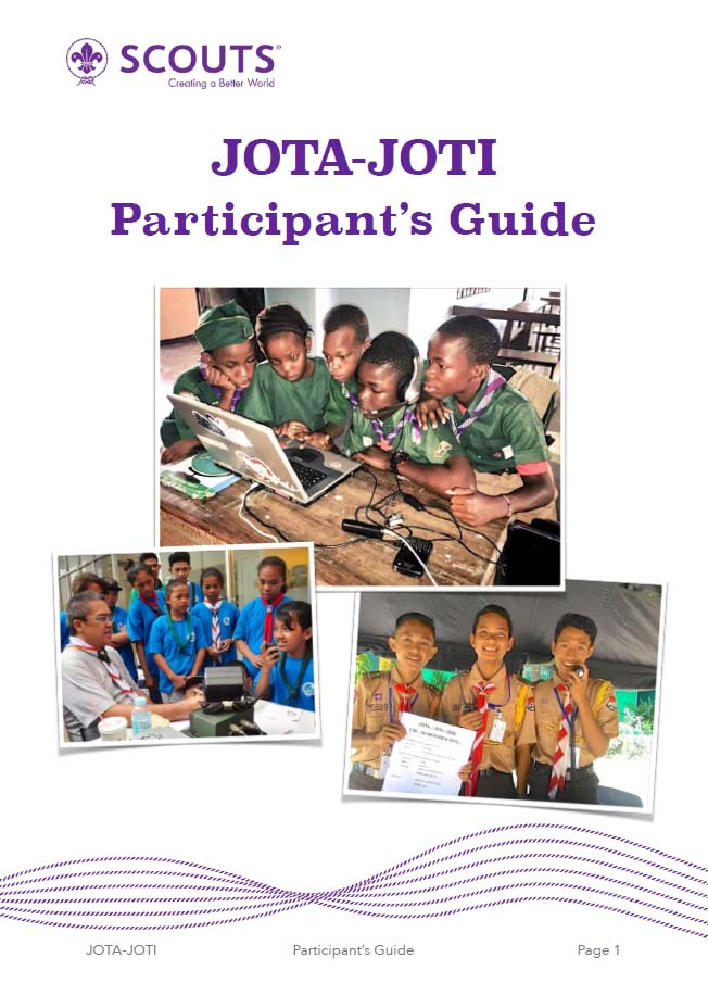 JOTA-JOTI Participant's Guide Available